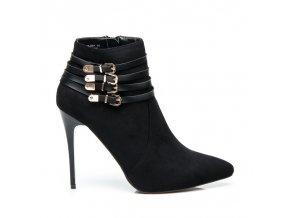 Klasické topánky na vysokom opätku YS-05B / S2-65P veľ.č. 37 (Veľkosť UK4 / EUR 37)
