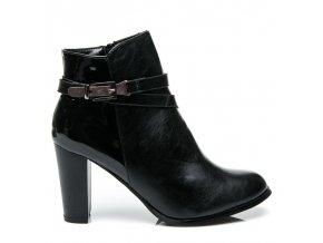 Módna obuv na vysokom opätku veľ.č. 38 (Veľkosť UK5 / EUR 38)