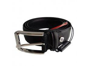 Pánsky kožený opasok Pierre Cardin čierna FA5104/35 120