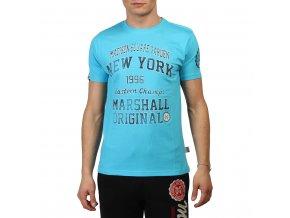 Pánske tričko Marshall Original modré (Veľkosť S,)