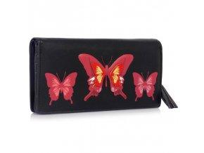 Peňaženka Butterfly čierna LSP1082