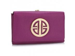 Peňaženka Jocelyn fialová LSP1063
