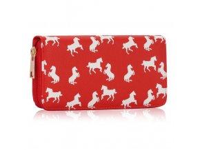 Peňaženka Lydia červená LSP1047