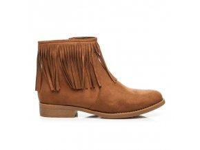 Topánky BOHO so strapcami B7572C veľ.č. 36 (Veľkosť 42)