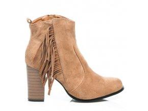 Topánky so strapcami - BOHO veľ.č. 37, 38, 39 (Veľkosť UK6 / EUR 39)