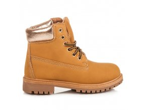 Topánky traperky pre dievčatá 59-031C