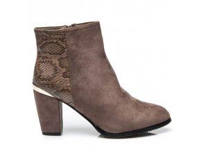Topánky z hadej kože veľ.č. 38, 39 (Veľkosť UK6 / EUR 39)