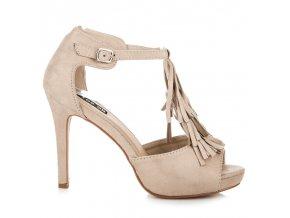 161632 krasne bezove sandalky so strapcami 8396be big