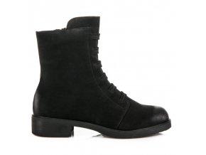 Čierne topánky workery 08823-10B