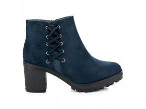 Modré topánky Gerta 669-2N