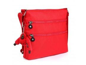 Červená crossbody kabelka Adeline AG00544