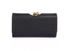 Čierna peňaženka Anabel AGP1070