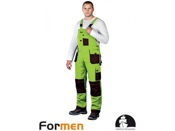 Pracovné nohavice s náprsenkou LH FMN - B LBR