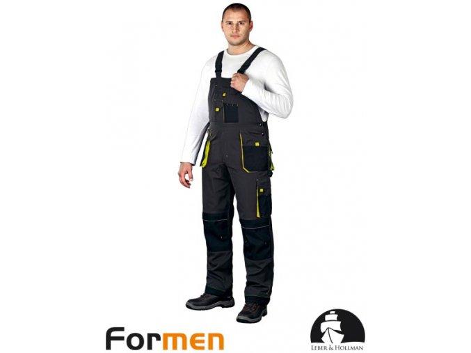 Pracovné nohavice s náprsenkou LHFMN -B SBY