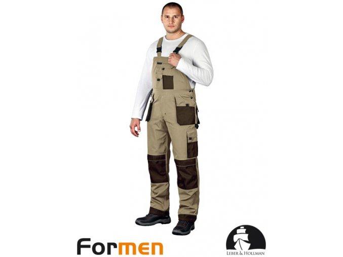 Pracovné nohavice s náprsenkou LH FMN - B BE3