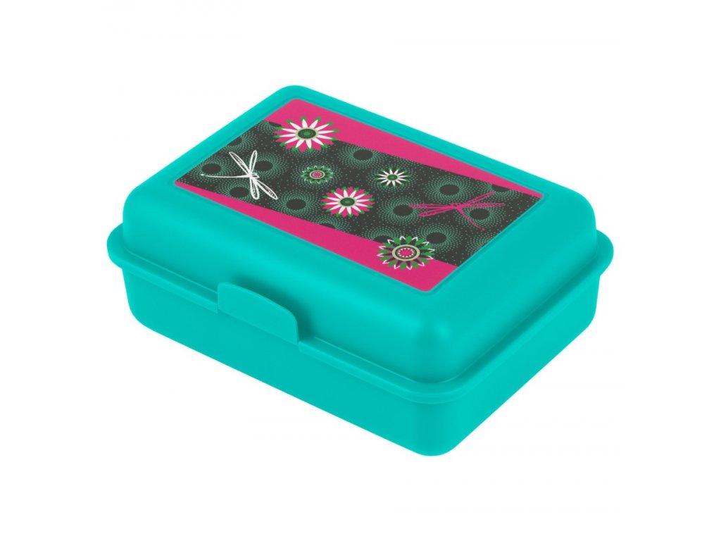 64191 5 baagl box na svacinu kvetiny