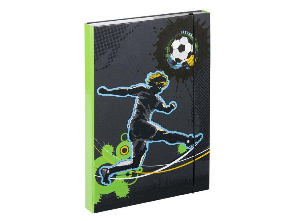 63666 1 baagl desky na skolni sesity a4 fotbal