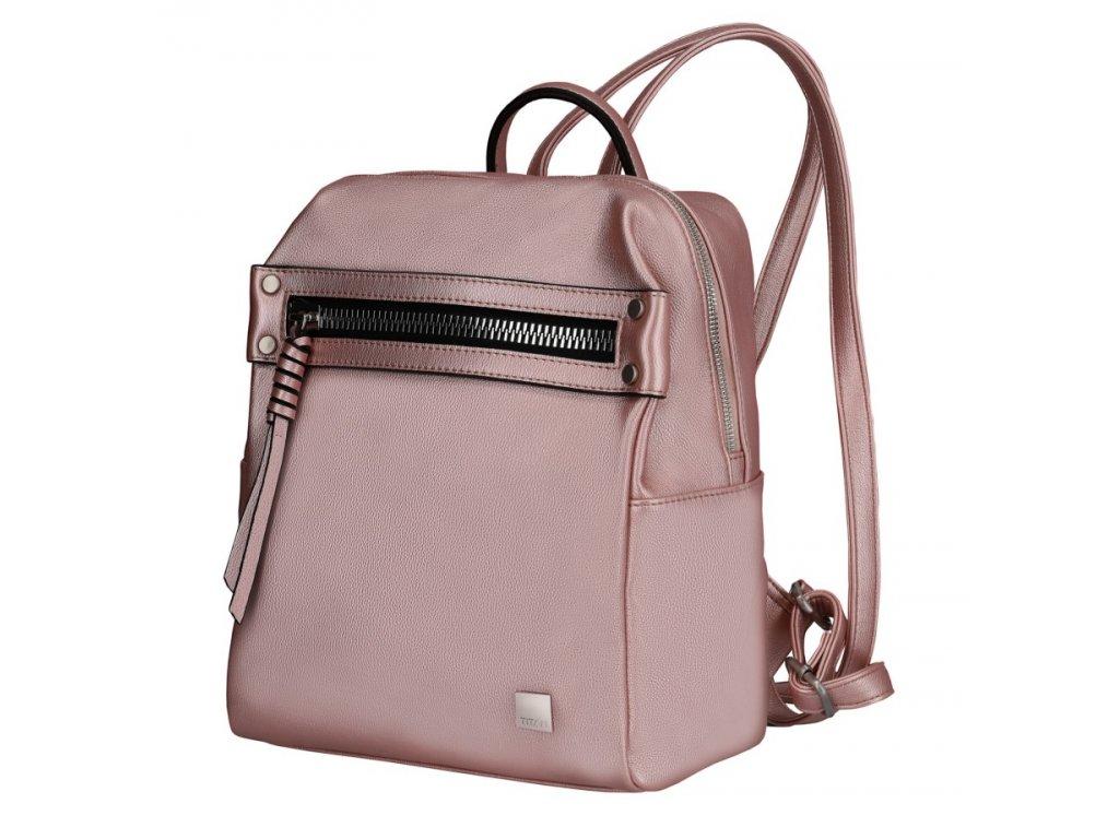 172207 3 batoh titan spotlight city zip metallic pink