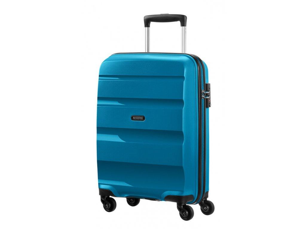 174949 8 cestovni kufr american tourister bon air 4w s modra