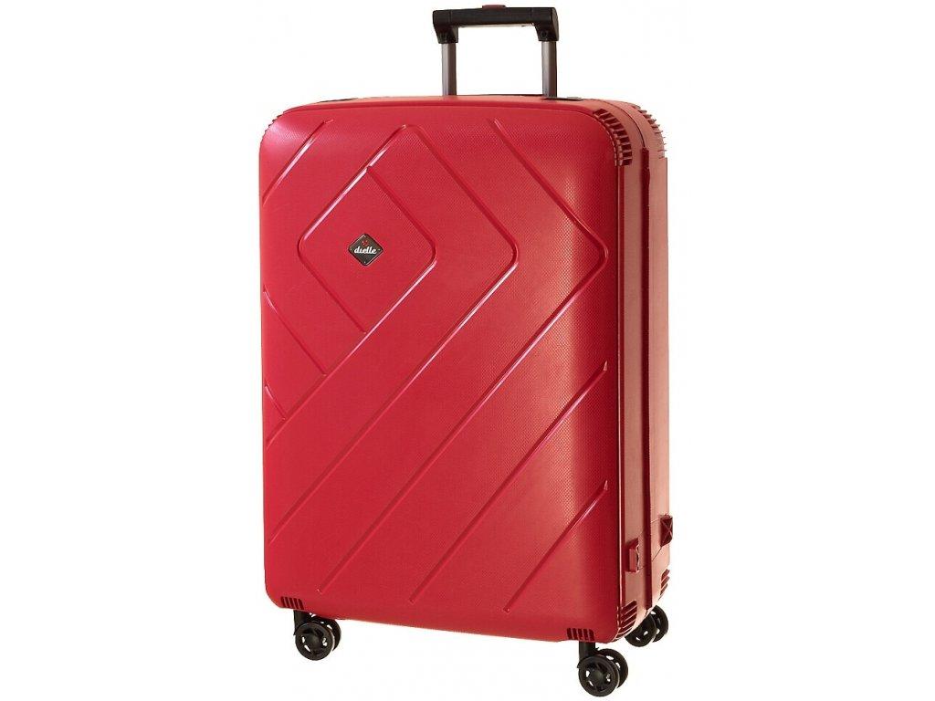 165295 6 cestovni kufr dielle l cervena