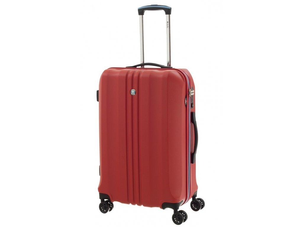 165442 6 cestovni kufr dielle m cervena