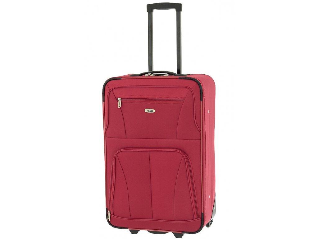 164467 4 cestovni kufr dielle m cervena