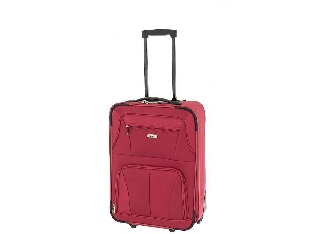 164458 4 cestovni kufr dielle s cervena