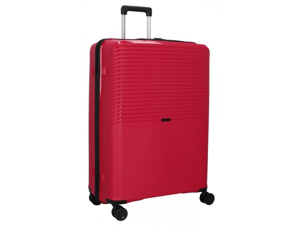 176281 4 cestovni kufr d n 4w l pp cervena