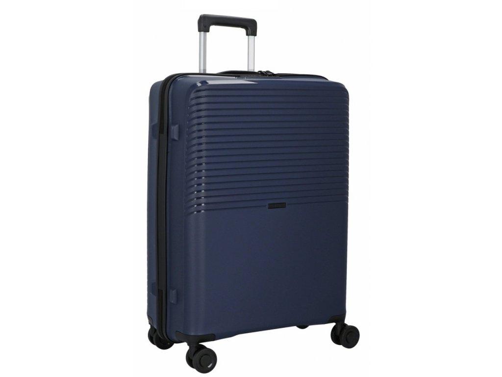 176287 4 cestovni kufr d n 4w l pp tmave modra