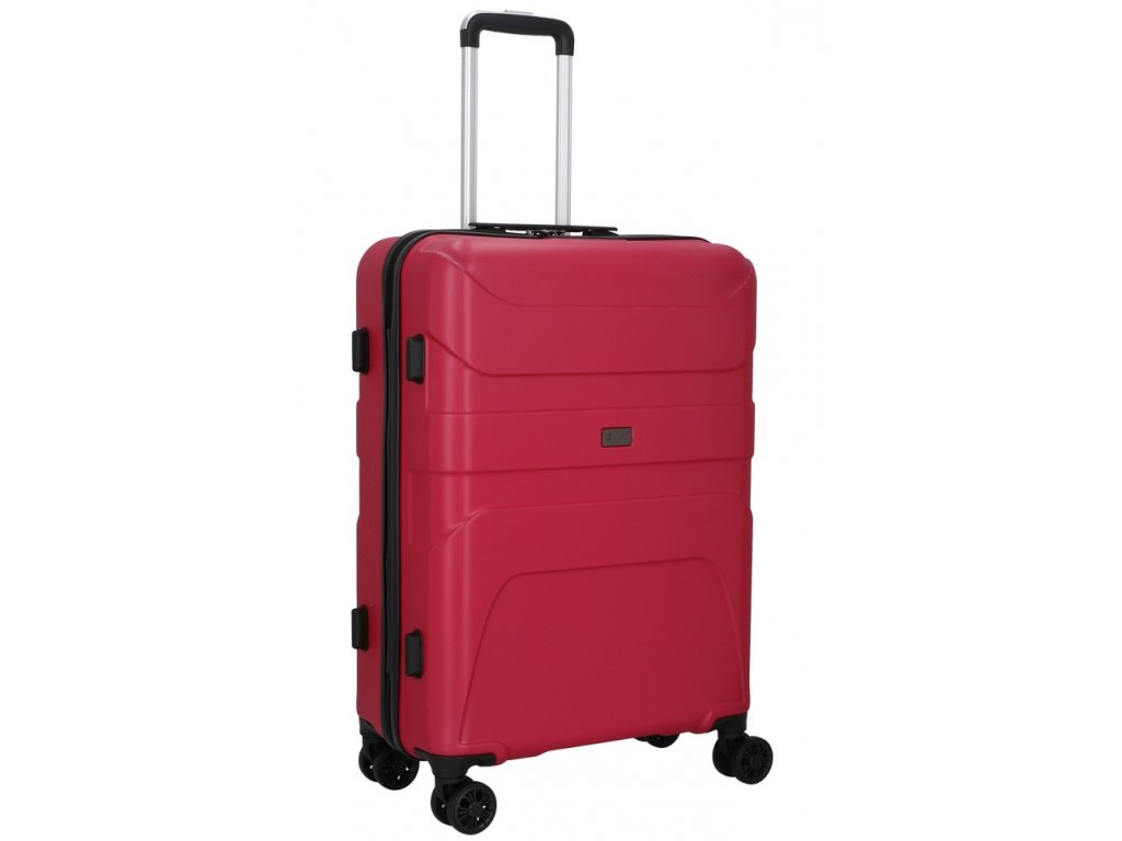 176212 4 cestovni kufr d n 4w m cervena