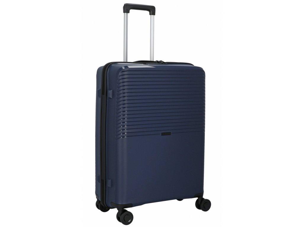176272 4 cestovni kufr d n 4w m pp tmave modra