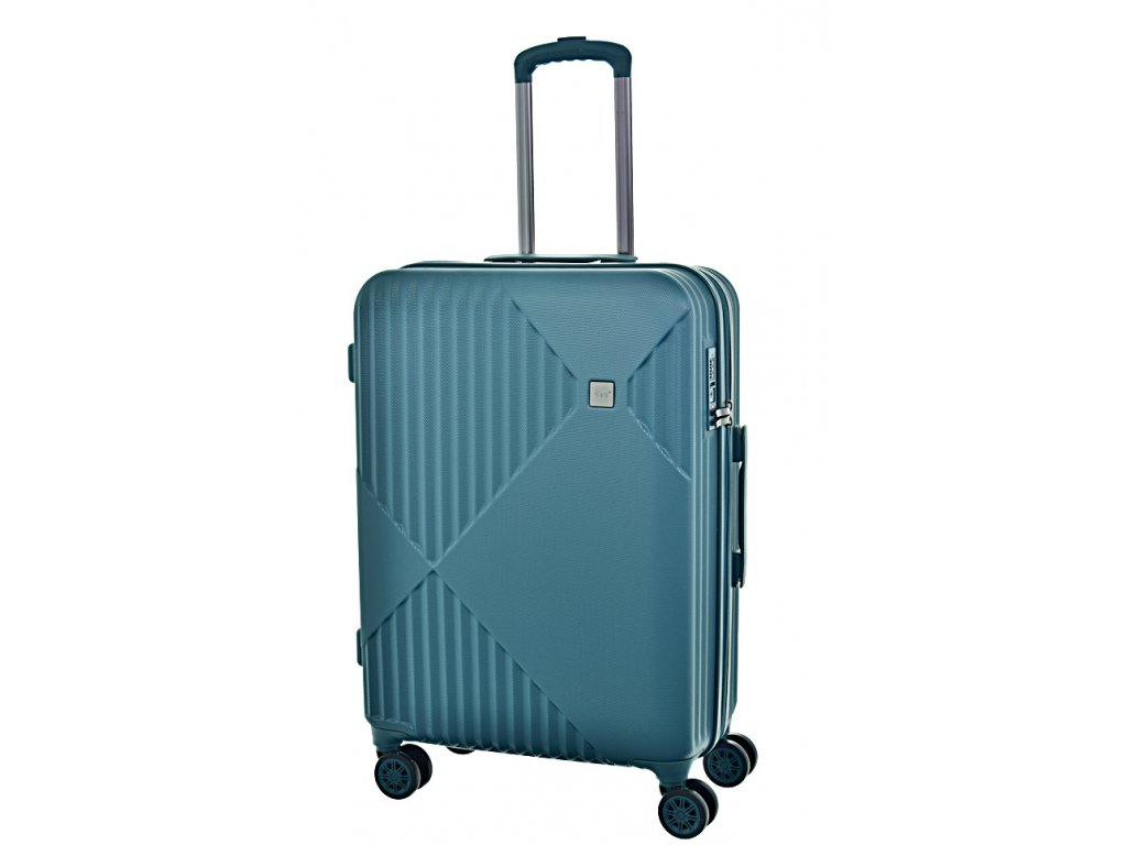 171289 7 cestovni kufr d n m green