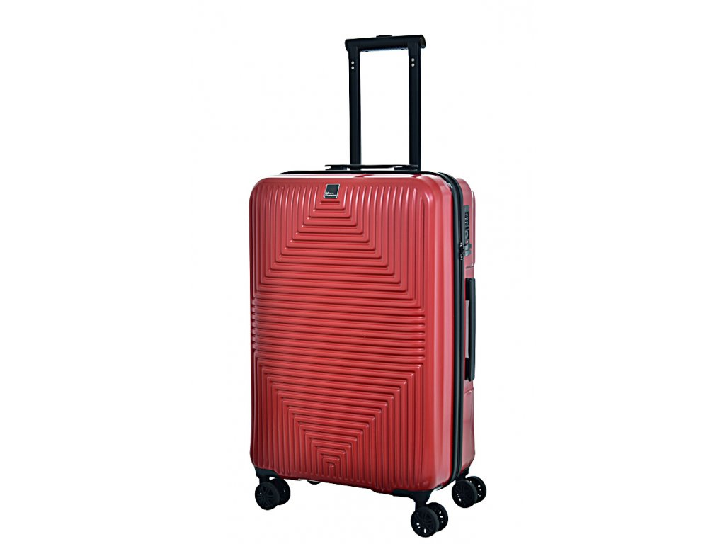 171412 7 cestovni kufr fabrizio avenue 4w m red