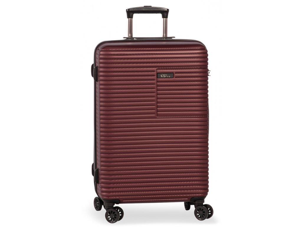 171397 3 cestovni kufr fabrizio breeze 4w m red