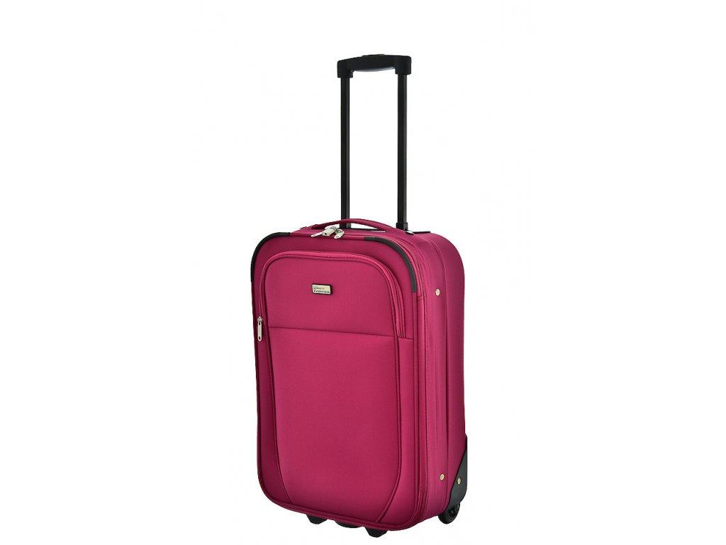 174124 5 cestovni kufr fabrizio sunny 2w s fuchsiova
