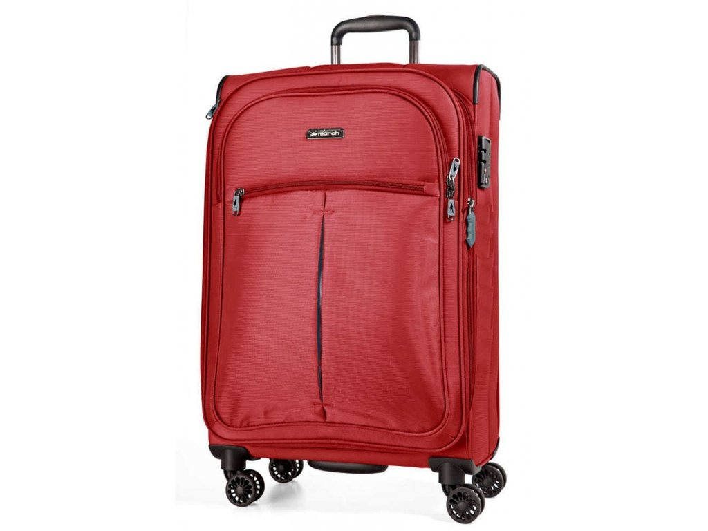 165085 4 cestovni kufr march arrow s red