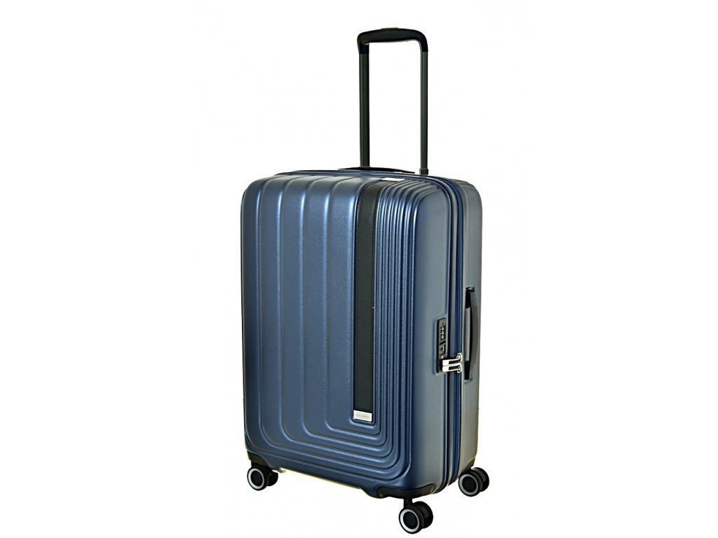 170167 7 cestovni kufr march beau monde m blue