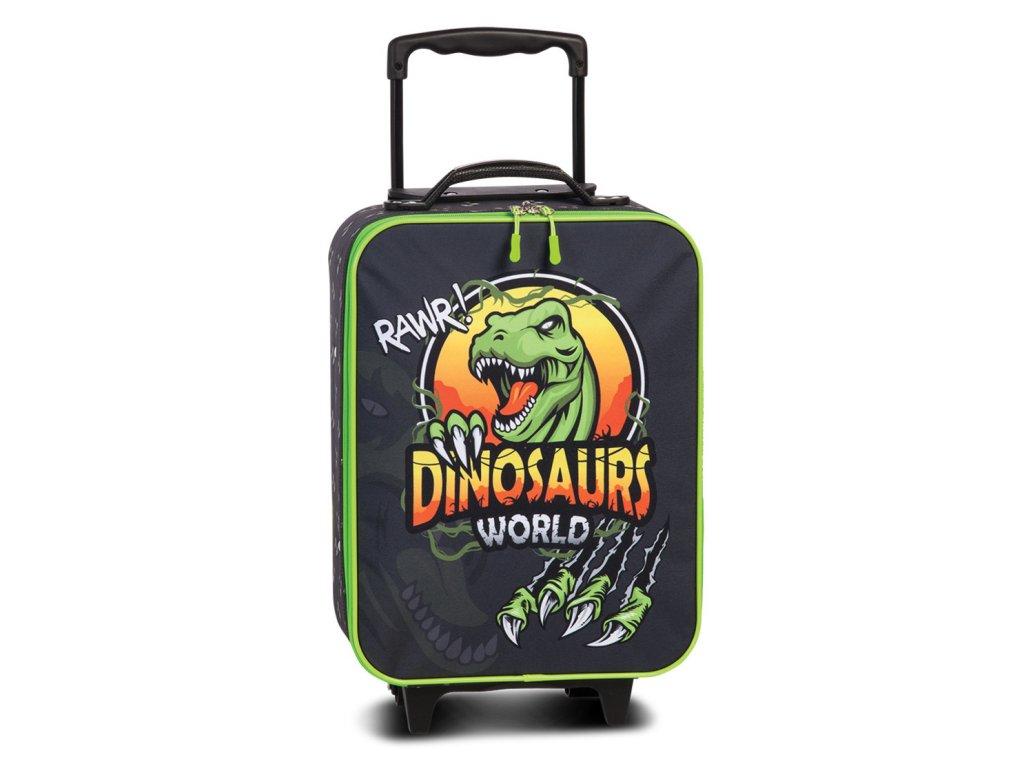 3244395 detsky kufr dinosaurs world