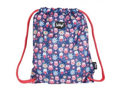 62007 3 baagl sacek na obuv happy owls