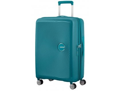 174967 11 cestovni kufr american tourister sound box m exp petrolejova