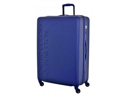 173515 6 cestovni kufr benetton ucb 4w l modra