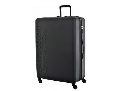 173518 6 cestovni kufr benetton ucb 4w l cerna
