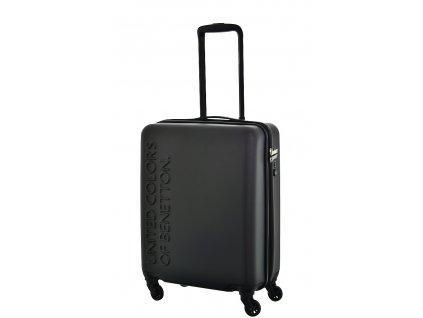 173500 6 cestovni kufr benetton ucb 4w s cerna