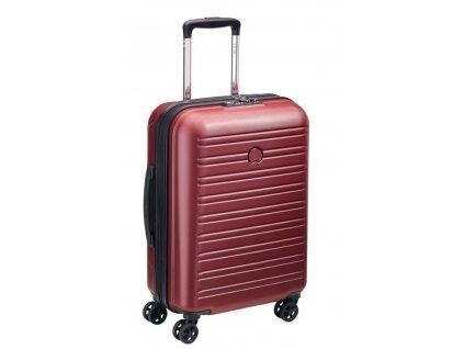 170617 7 cestovni kufr delsey segur slim 55 red