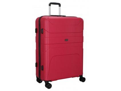 176218 4 cestovni kufr d n 4w l cervena