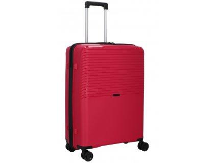 176266 4 cestovni kufr d n 4w m pp cervena