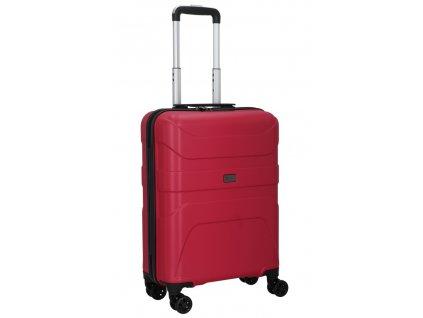 176206 4 cestovni kufr d n 4w s cervena