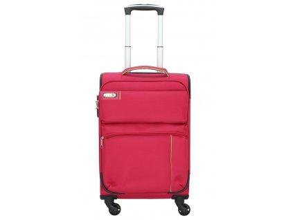 176524 5 cestovni kufr d n 4w s cervena