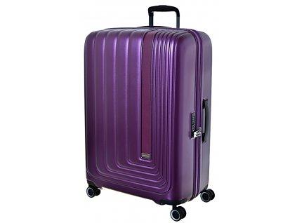 190543 cestovni kufr march beau monde l purple metallic
