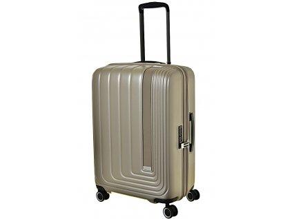 170176 7 cestovni kufr march beau monde m silver bronze metall